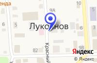 Схема проезда до компании ПРОМТОВАРНЫЙ МАГАЗИН в Лукоянове