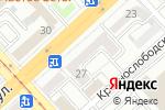 Схема проезда до компании Винтаж в Волгограде