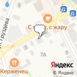 Магазин салютов Семенов- расположение пункта самовывоза