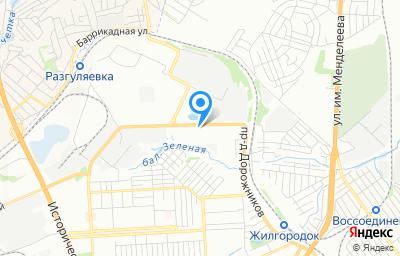 Местоположение на карте пункта техосмотра по адресу г Волгоград, проезд Дорожников, д 4