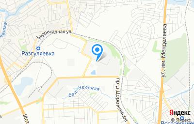 Местоположение на карте пункта техосмотра по адресу г Волгоград, ул Рузаевская, д 2
