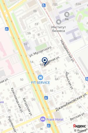 Тor-car.ru на карте Волгограда