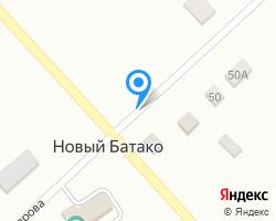 Схема местоположения почтового отделения 363011