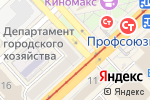 Схема проезда до компании Юта в Волгограде