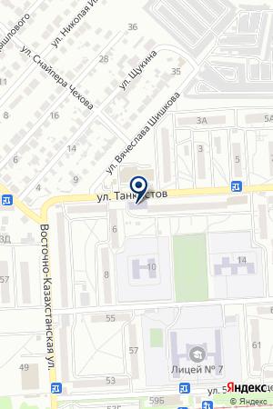 ЖЭУ №33 на карте Волгограда