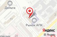 Схема проезда до компании Информсервис в Волгограде