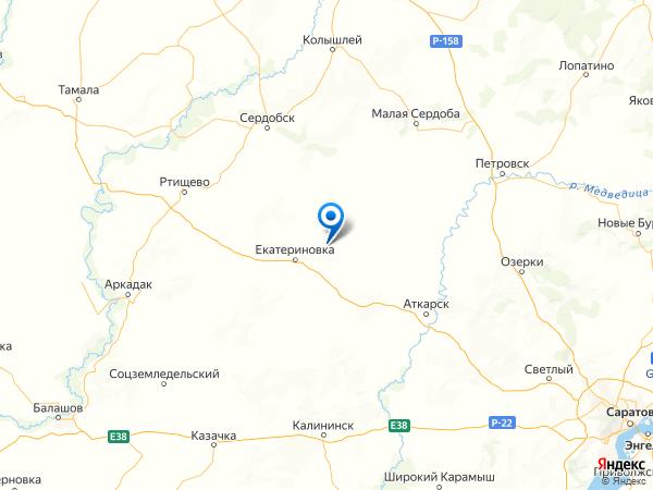 деревня Свищевка на карте