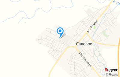 Местоположение на карте пункта техосмотра по адресу Респ Калмыкия, с Садовое, ул 50 лет Советской Калмыкии, д 27