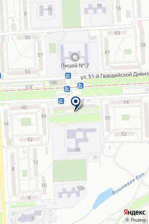 СТАНЦИЯ ЮНЫХ ТЕХНИКОВ ДЗЕРЖИНСКОГО РАЙОНА на карте Волгограда