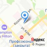 Волгоградский государственный медицинский университет на карте Волгограда