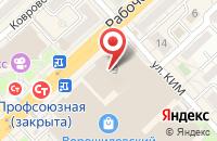 Схема проезда до компании Buona Notte в Волгограде