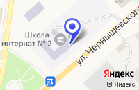 Схема проезда до компании ПРОФЕССИОНАЛЬНЫЙ ЛИЦЕЙ № 30 в Семенове
