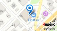 Компания АвтоВэй на карте