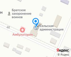 Схема местоположения почтового отделения 363003