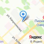 ВолгаМебель34 на карте Волгограда