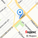 Мой город на карте Волгограда
