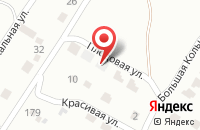 Схема проезда до компании Русский дом в Луговом