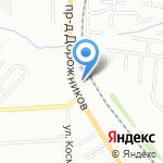 Европроект на карте Волгограда