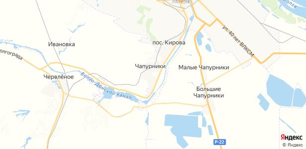 Чапурники на карте