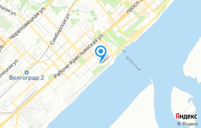 Местоположение на карте пункта техосмотра по адресу г Волгоград, ул Пугачевская, зд 9/2