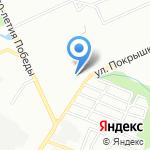 Отдел ГИБДД по Дзержинскому району на карте Волгограда