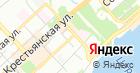 Продовольственный магазин на ул. Циолковского на карте