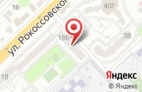 Схема проезда до компании Робус в Волгограде