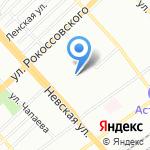 Волгоградское областное диабетическое общество на карте Волгограда