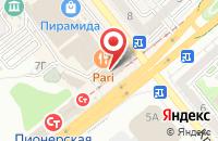 Схема проезда до компании Автолайт в Яблоновском