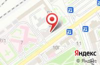Схема проезда до компании Новация в Волгограде