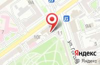 Схема проезда до компании Полиграф-Дизайн в Волгограде