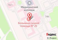 Городская клиническая больница скорой медицинской помощи № 25 в Волгограде - улица Землячки, 74: запись на МРТ, стоимость услуг, отзывы