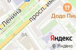 Схема проезда до компании ДорАгроТех в Волгограде