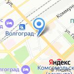 Вечерняя школа №5 на карте Волгограда