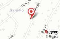 Схема проезда до компании Рябина в Волгограде