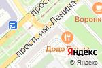 Схема проезда до компании Евросеть в Волгограде