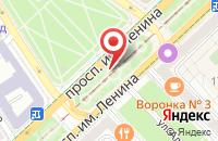 Схема проезда до компании Медиа-Волга в Волгограде
