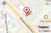 Схема проезда до компании Контакт в Волгограде