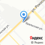 Лука на карте Волгограда