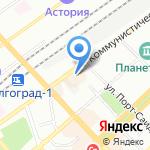 С.т.о. Маек на карте Волгограда