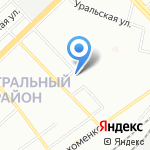 Ателье №101 на карте Волгограда