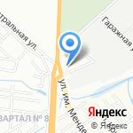 Амкодор-Юг на карте Волгограда
