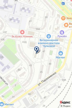 Новая Планета на карте Волгограда