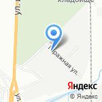 Экспресс-Сити на карте Волгограда