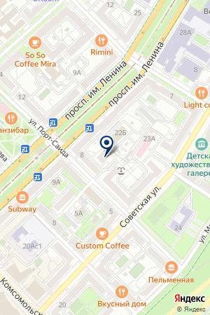 Независимая Экспертиза на карте Волгограда