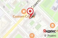 Схема проезда до компании Бизнес-Порт в Волгограде