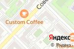 Схема проезда до компании Родник в Волгограде