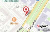 Схема проезда до компании Центр Оперативной Полиграфии в Волгограде