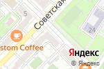 Схема проезда до компании Virtual alternative jeans в Волгограде