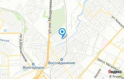 Местоположение на карте пункта техосмотра по адресу г Волгоград, ул Гаражная, д 7